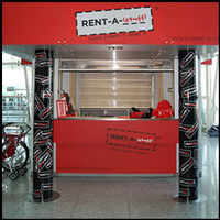 Rent-a-Stuff : Kiosk at Lisbon Airport